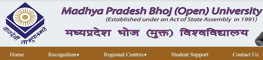 MP Bhoj Open University Admit Card
