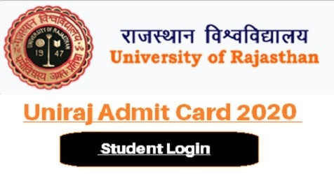 Uniraj Admit Card