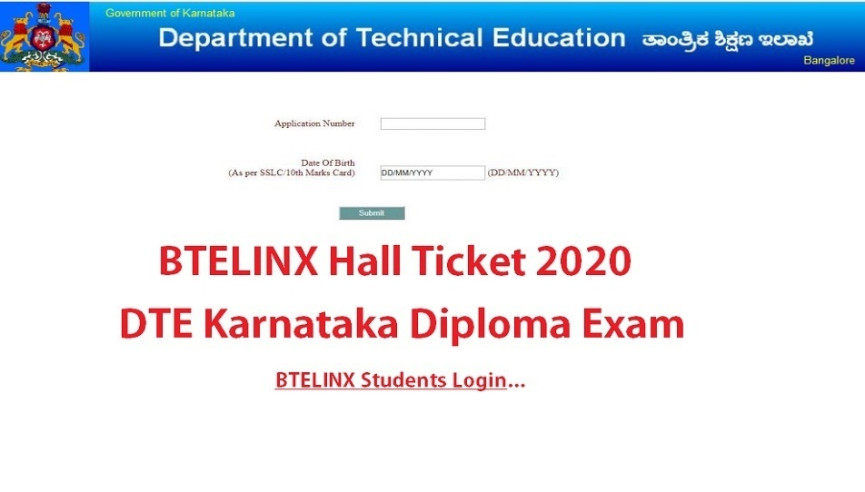 BTELINX Hall Ticket