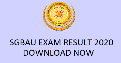 SGBAU Exam Result